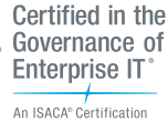 ISACA's Certified in the Governance of Enterprise IT (CGEIT) certification